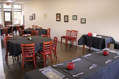 Event and dining area for resident patients at Third & Main