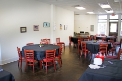 Event and dining area for resident patients at Third & Main 2