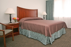 Large comfortable rooms and beds at Third & Main