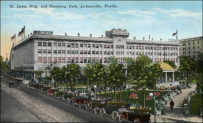 St. James Building, Hemming Park, Jacksonville, Florida