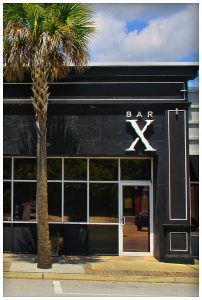 Bar X and palm tree, Jacksonville, Florida