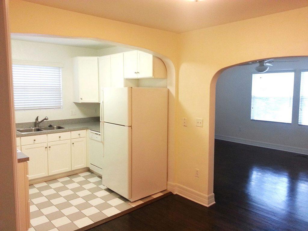 26 Larue Street apartments- interior with hardwoord floors