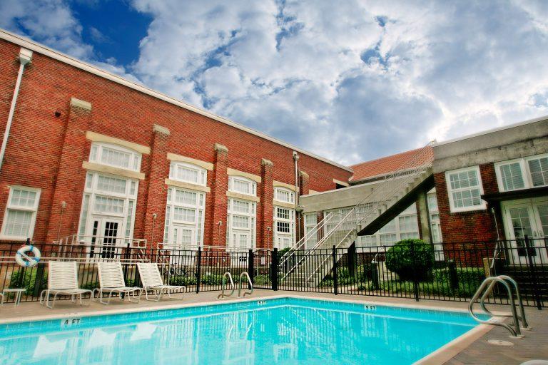 pool at The Lofts San Marco